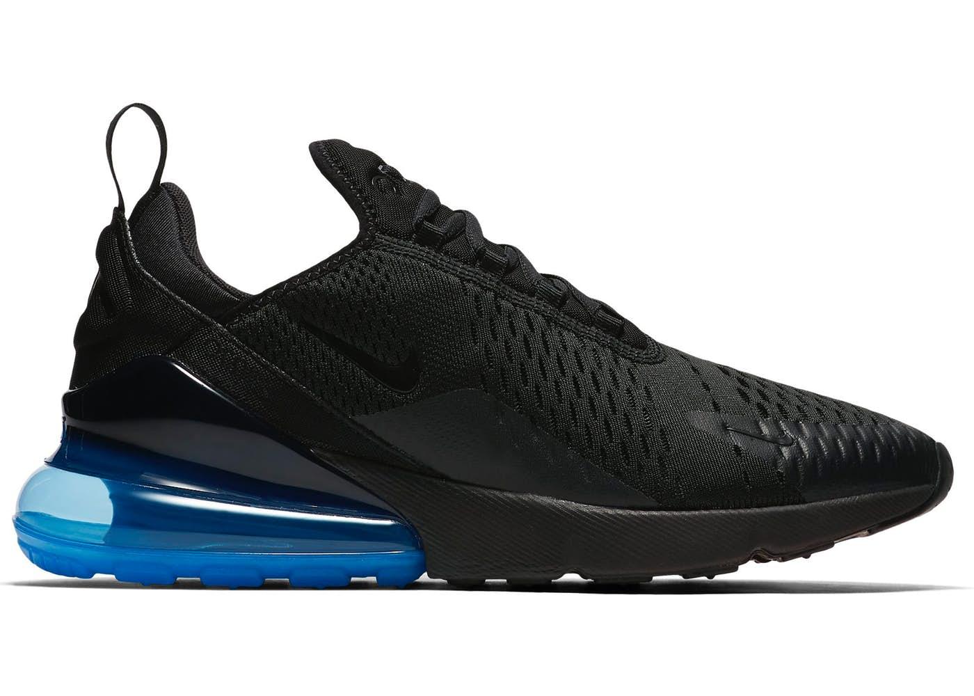 75a29352c243 Кроссовки Nike Air Max 270 Black Blue, интернет-магазин Shoesland.ua