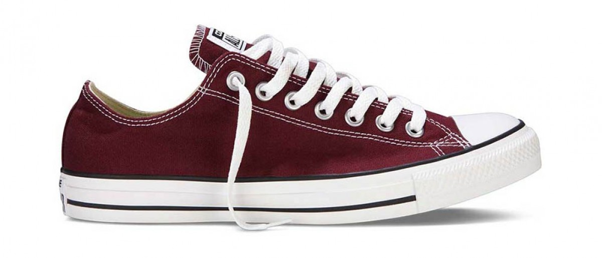 Кеды Converse All Star Low Burgundy