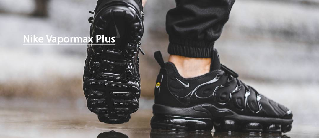 Кроссовки VaporMax Plus Triple Black