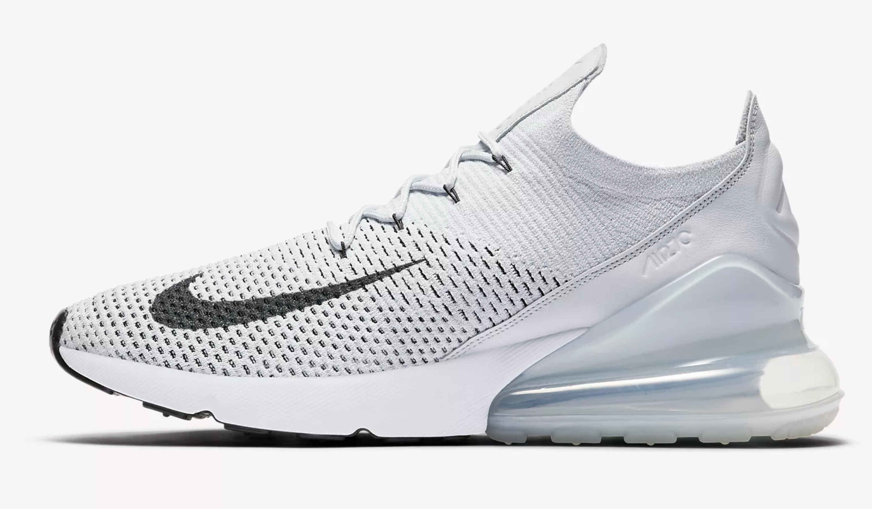 Кроссовки Nike Air Max 270 Flyknit full white