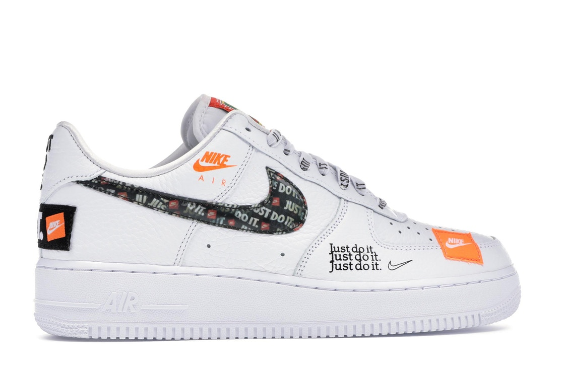 Кроссовки Air Force 1 Low Just Do It Pack White/Black