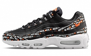 Кроссовки Nike Air Max 95 Just Do It Black White