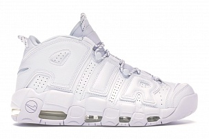 Кроссовки Nike Air More Uptempo White on White