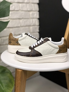 Кроссовки Louis Vuitton Sneakers Brown White