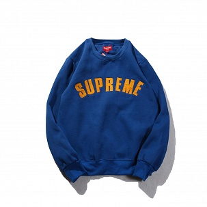 Свитшот Supreme Blue Yellow
