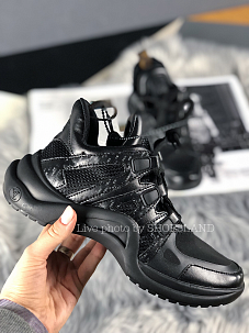Кроссовки Louis Vuitton Sneakers triple black