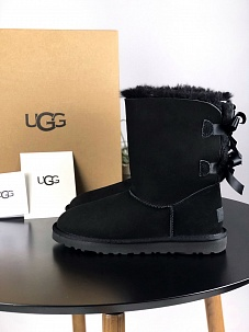 UGG Bailey Bow II Boot 1016225 (Black)