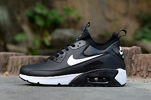 Nike Air Max 90 Ultra MID Winter Black White