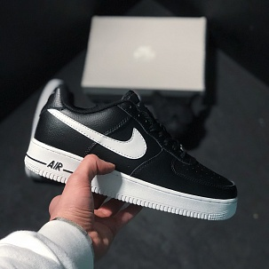 Кроссовки Nike Air Force 1 Low black white