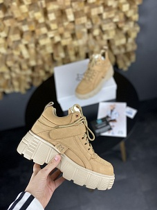 Кроссовки MS Sneakers Brown (Мех)
