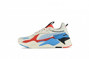 Кроссовки Puma Rs-x Reinvention Cream Red Blue