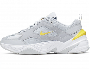 Кроссовки Nike M2k Tekno Grey Dynamic Yellow