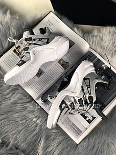 Кроссовки Louis Vuitton Sneakers silver white