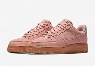 Кроссовки Nike Wmns Air Force 1 '07 SE (Particle Pink / Particle Pink)