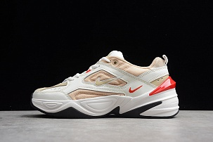 Кроссовки Nike M2K Tekno cream White red