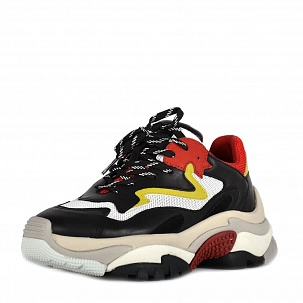 Кроссовки ASH Addict Sneakers Black Red White