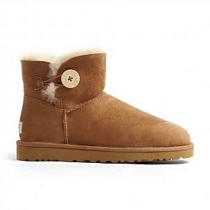 UGG Mini Bailey Button Chestnut 3352w