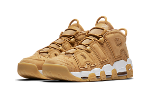 Кроссовки Nike Air More Uptempo Beige White Flex