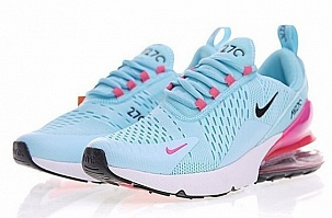 Кроссовки Nike Air Max FLyknit 270 Blue Pink