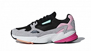 Кроссовки Adidas Falcon Core Black Light Granite