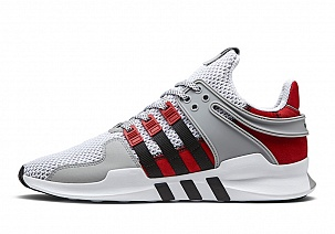 Кроссовки Adidas EQT Support ADV Grey Red Black