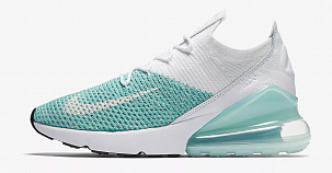 Кроссовки Nike Air Max 270 Flyknit White Mint
